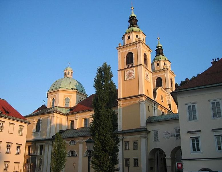 St Nicholas Cathedral, Ljubljana