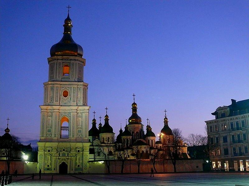 St Sophia Cathedral, Kiev, Ukraine