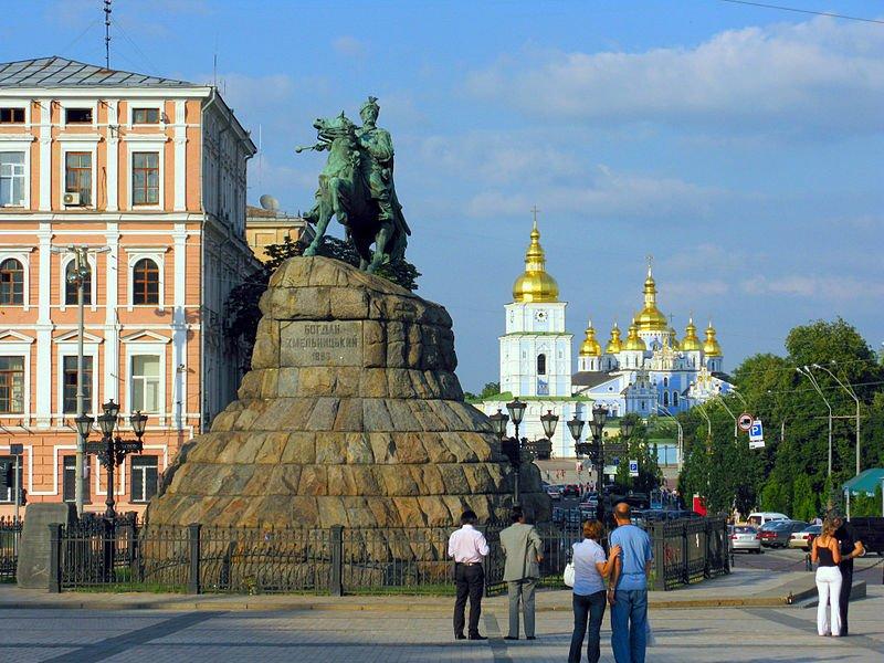 Statue of Bohdan Khmelnytsky, Kiev