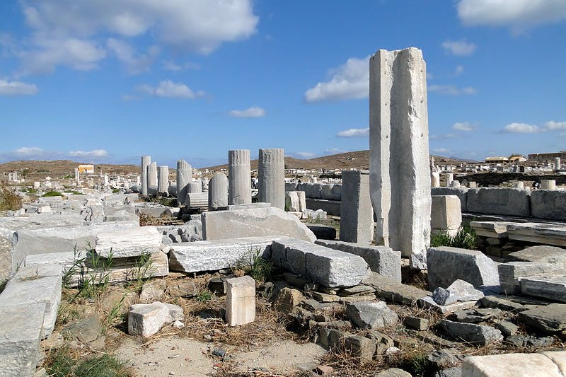 The Stoa of Philip, Delos, Greece