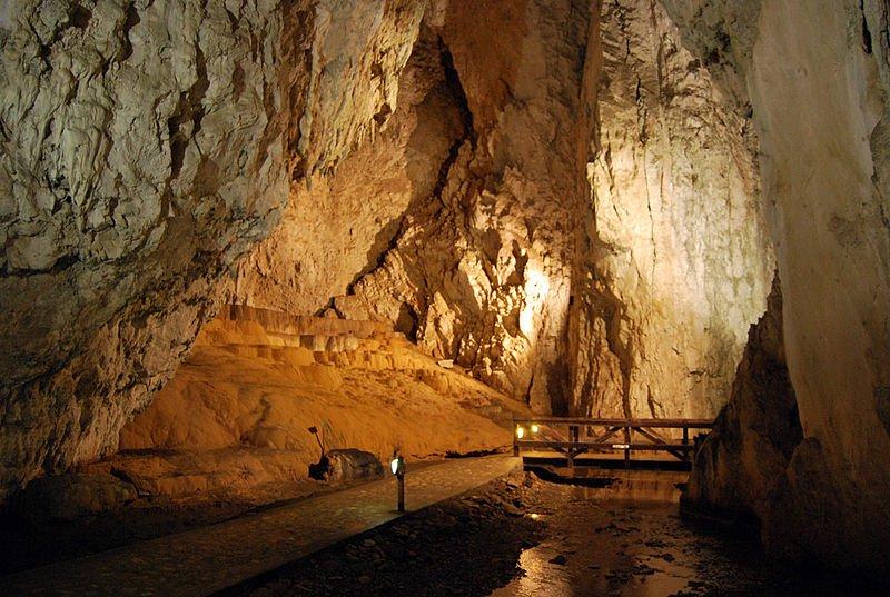 Stopića Cave in Zlatibor, Serbia