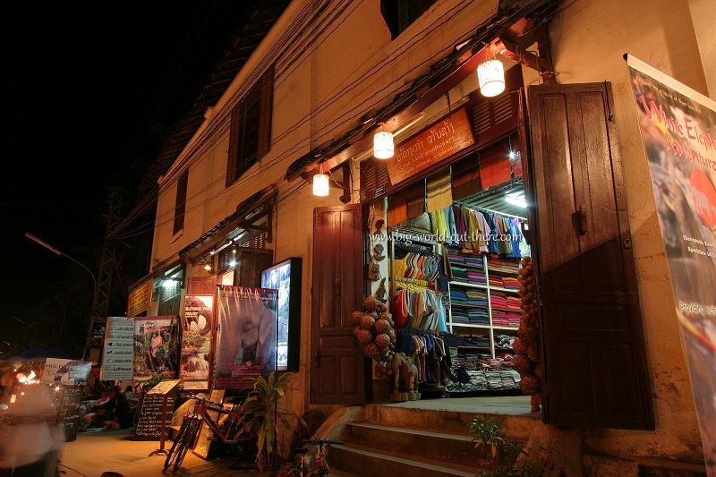 Store in Luang Prabang