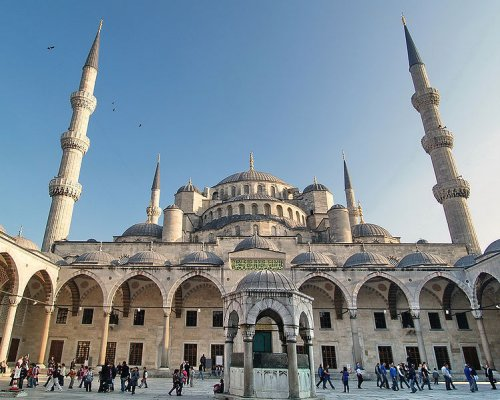 Sultan Ahmed Mosque (The Blue Mosque), Istanbul