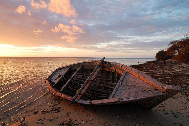 Sunset at Ilha do Ibo, Mozambique