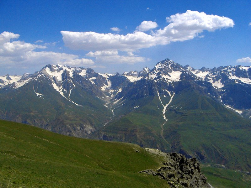 Tajik mountains