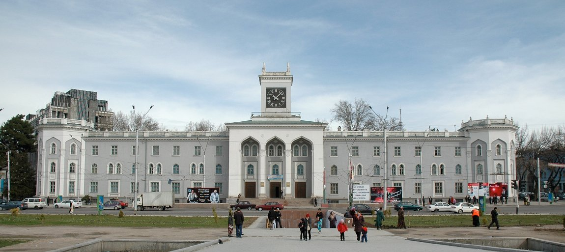 Tajikistan National Museum in Dushanbe