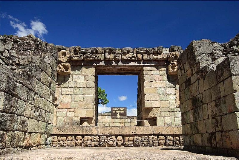Temple 22, Ruins of Copán, Honduras