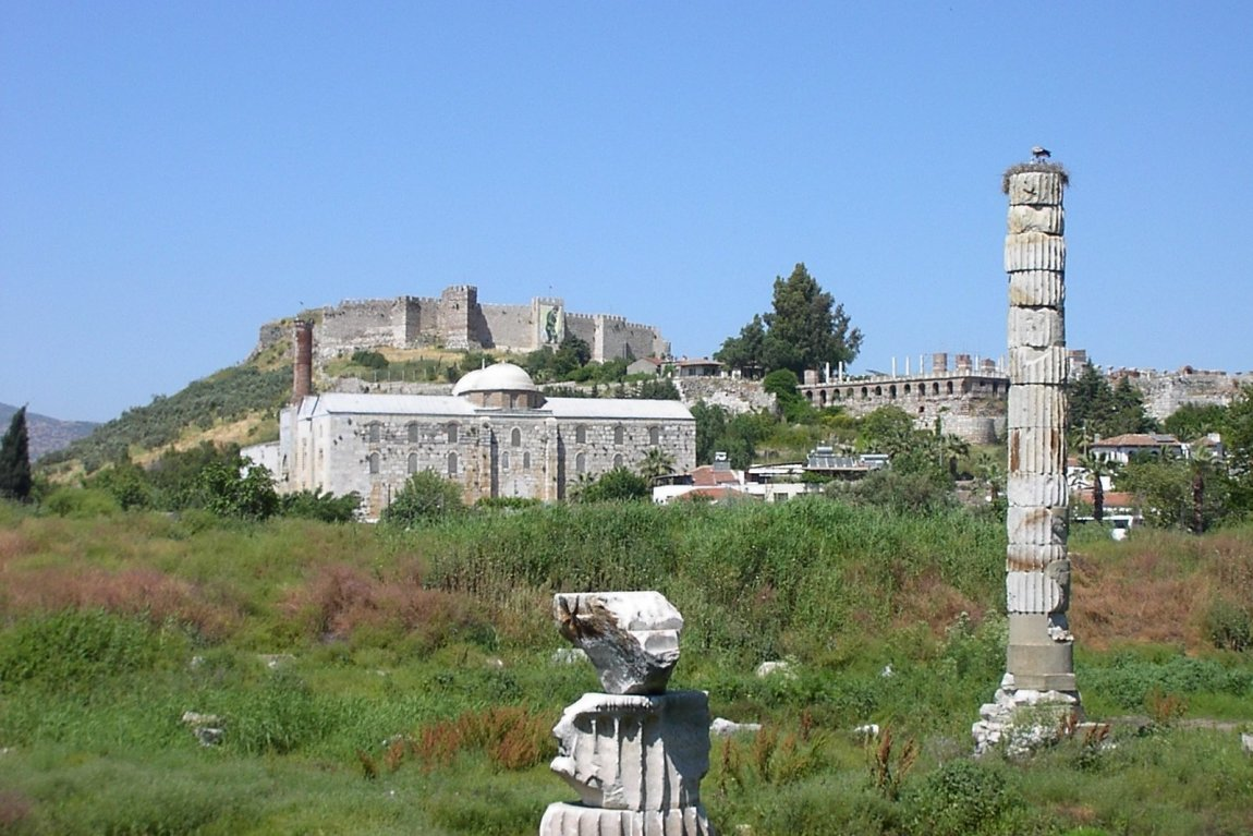 Site of the Temple of Artemis, Ephesus, Turkey