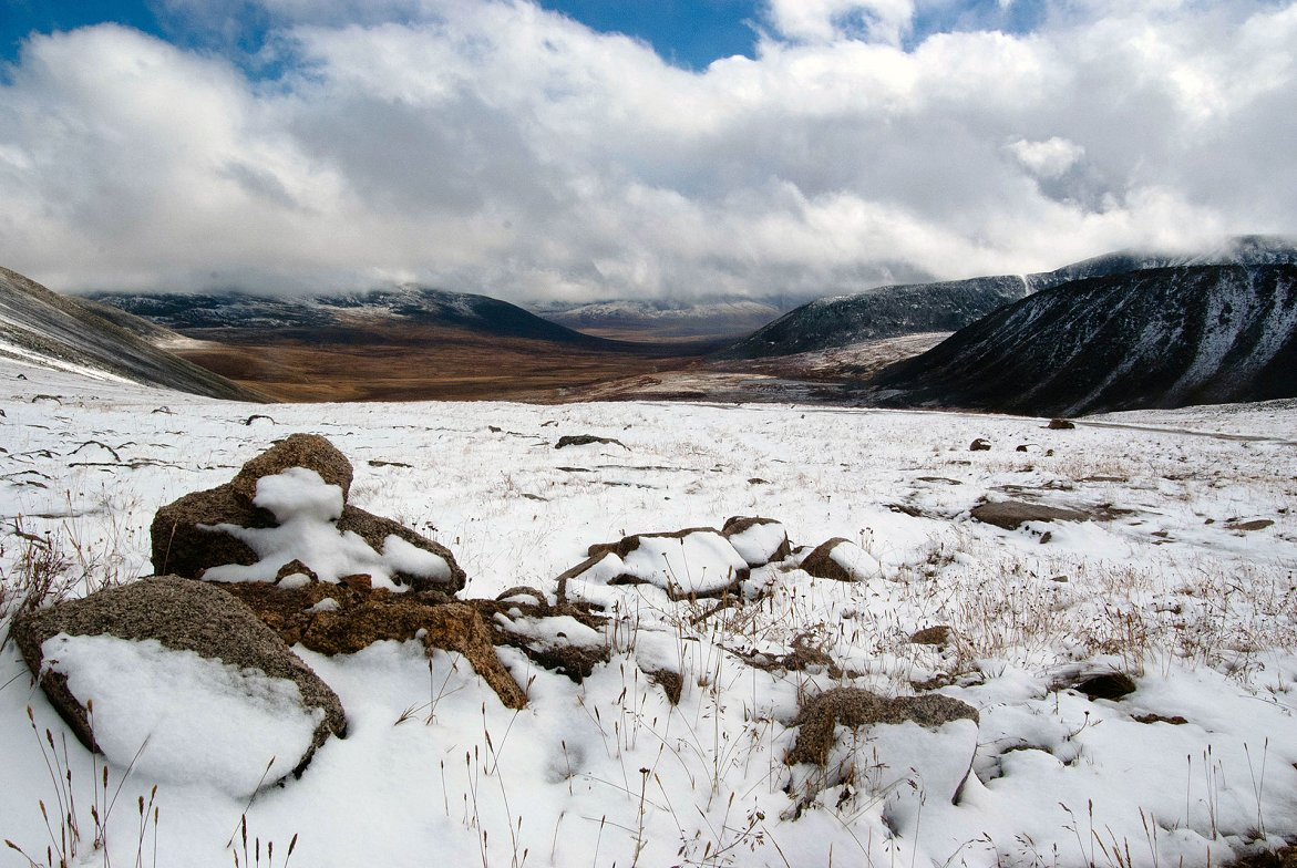 Teplyi Kluch Ukok Mountain Pass, Mongolia