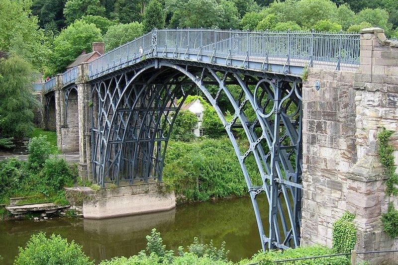 The Iron Bridge of Ironbridge Gorge