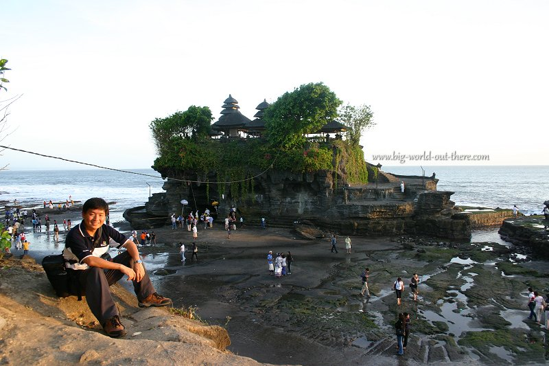 Tim at Tanah Lot