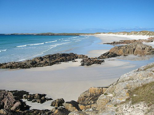 The island of Tiree, in the Scottish Inner Hebrides