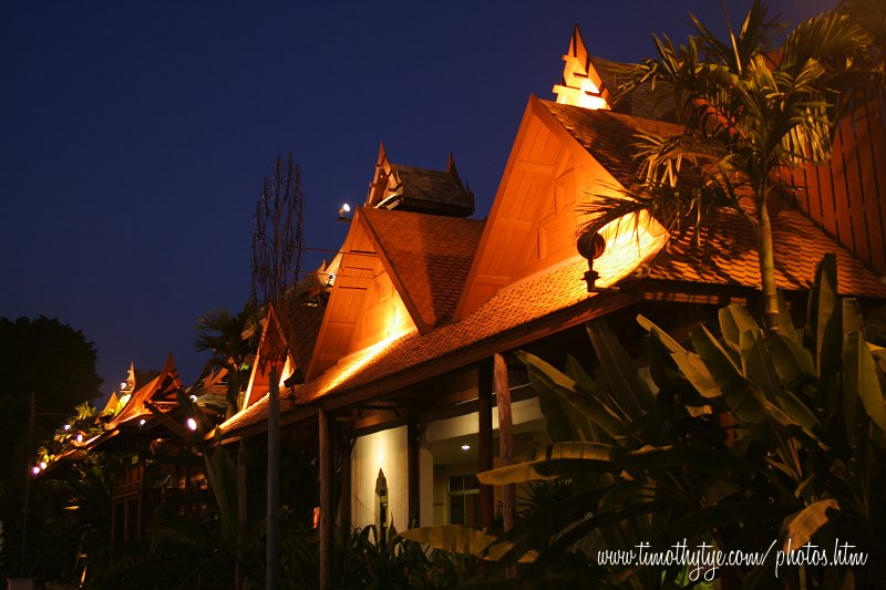 Traditional Thai Village at Siam Niramit, Bangkok