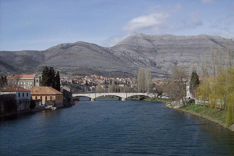 River Trebišnjica in Trebinje