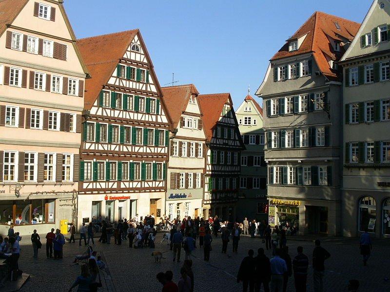 Tübingen marketplace