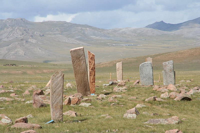 Uushgiin Ovor Deer stone site