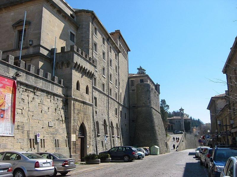 Via Piana in San Marino