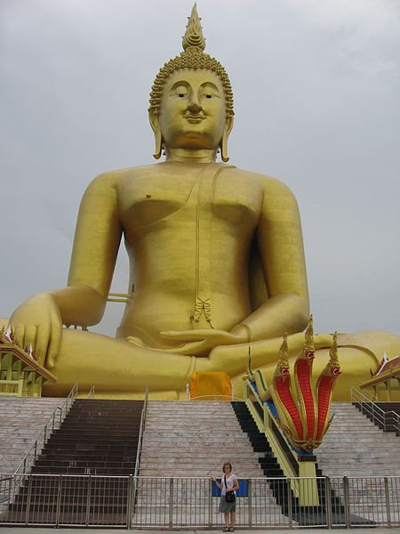 Seated Buddha of Wat Muang Ang Thong