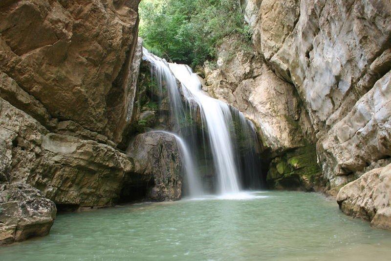 Waterfall at Mirusha Canyon, Kosovo