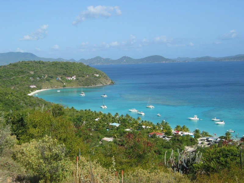 White Bay, Little Jost Van Dyke Island