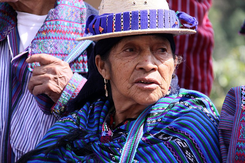 Woman from Todos Santos, Guatemala