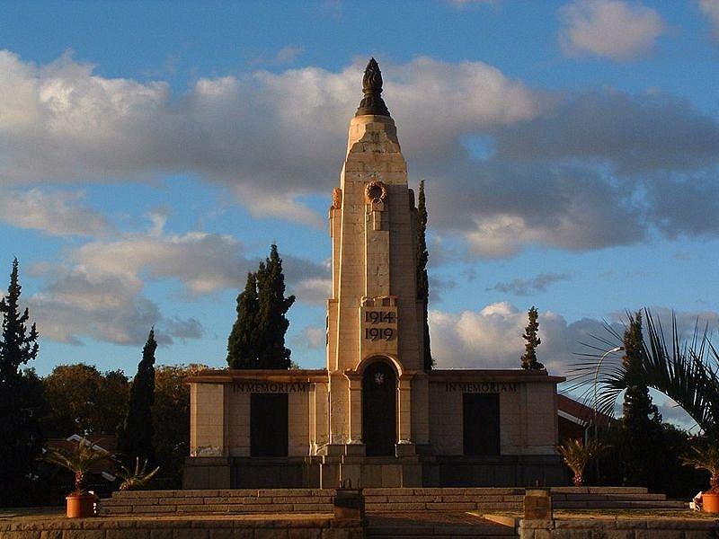 World War I Memorial, Kimberley