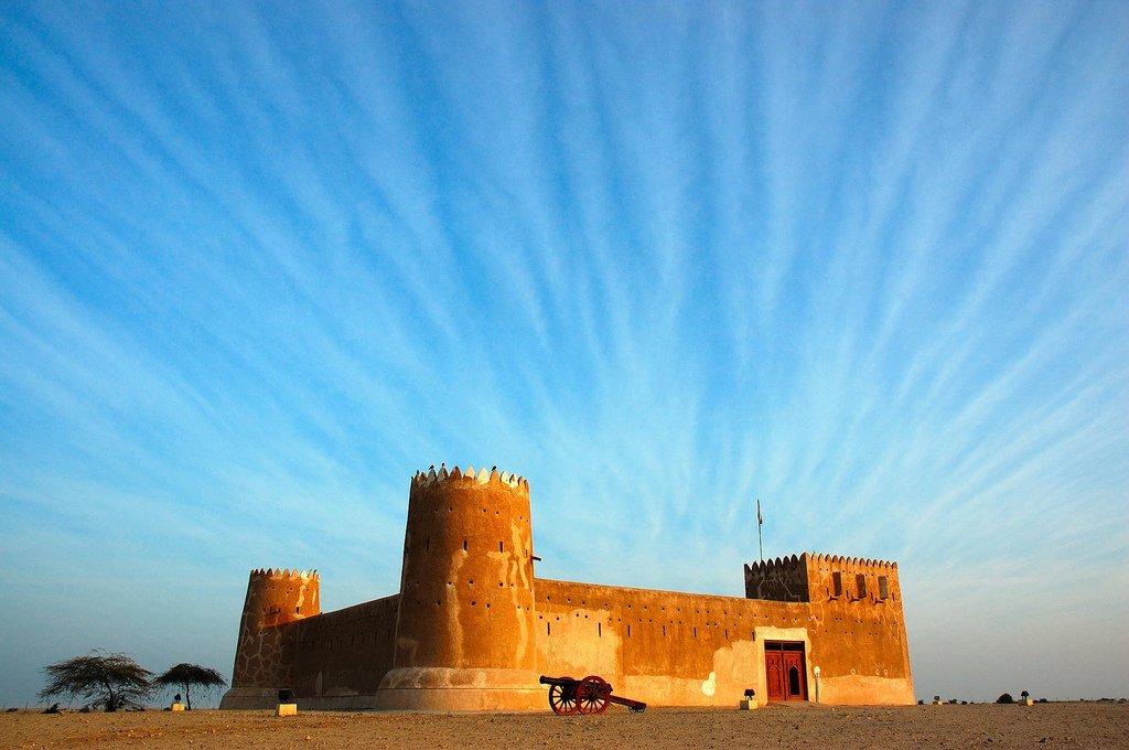 Zubara Fort, now a museum in Qatar