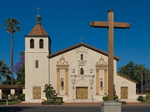 Mission Santa Clara de Asis at the Santa Clara University, San Jose