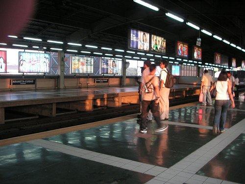 Araneta-Cubao MRT Station, Quezon City