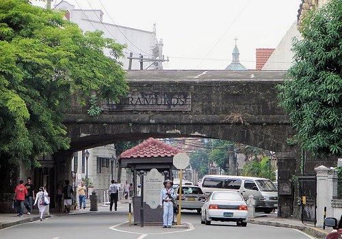 Entrance to Intramuros, Manila