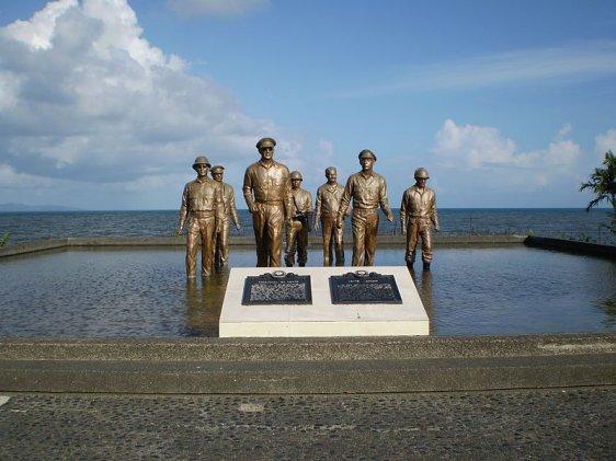Leyte Landing Memorial Park, Leyte, Philippines