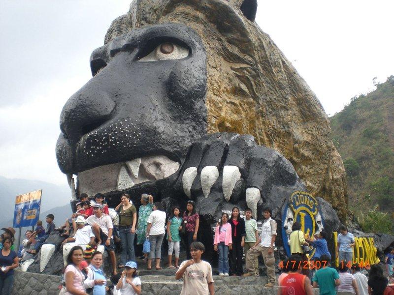 Lion's Head, Baguio