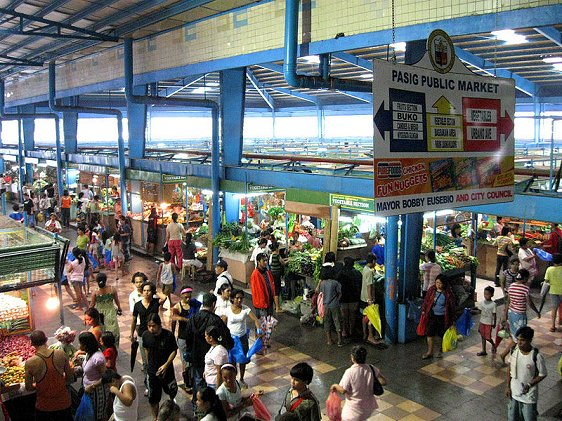 Pasig Public Market, Pasig City, Metro Manila