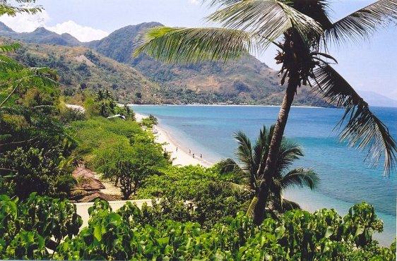 Beach near Puerto Galera in Mindoro