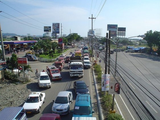 Street in Iloilo City, Panay