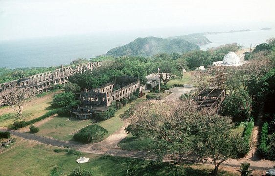 War relics on Corregidor Island