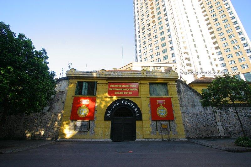 Entrance to the notorious Hanoi Prison