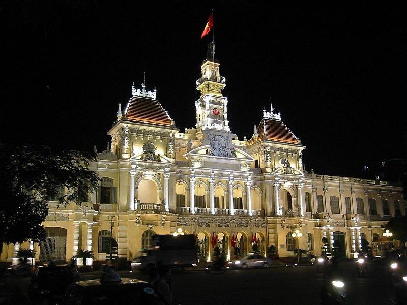 Hôtel de Ville - the former town hall of Ho Chi Minh City
