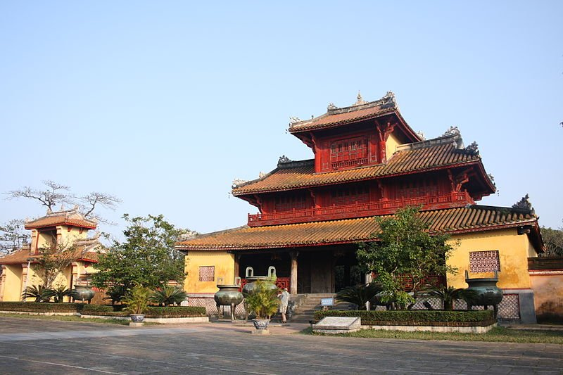 Building within the Imperial City of Hue
