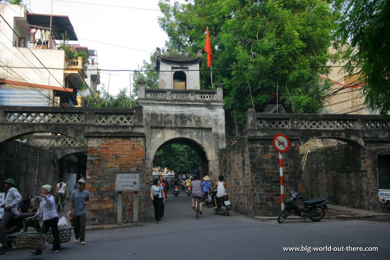 The Old East Gate of Hanoi