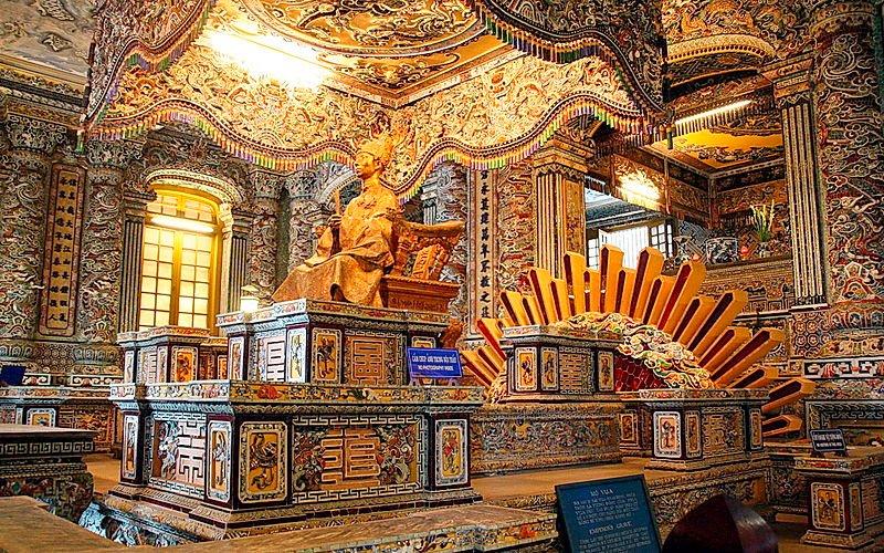 Tomb of King Khai Dinh of Hue