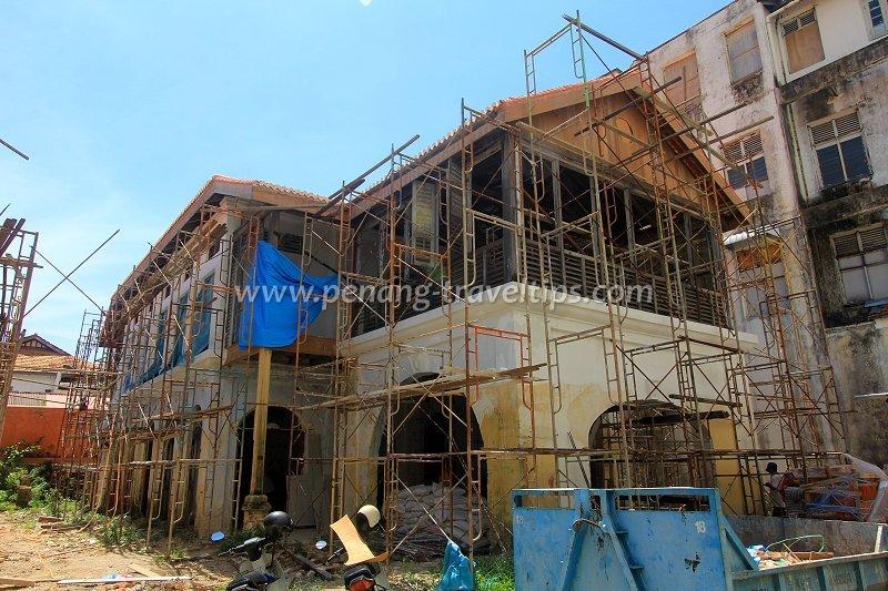 35 Farquhar Street under restoration