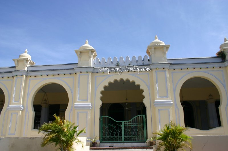 Entrance to the prayer hall of the Acheen Street Mosque
