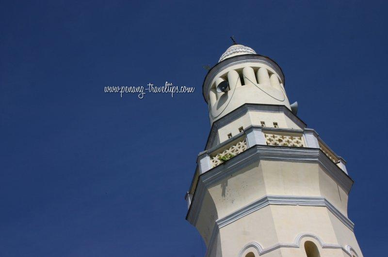 Acheen Street Mosque minaret