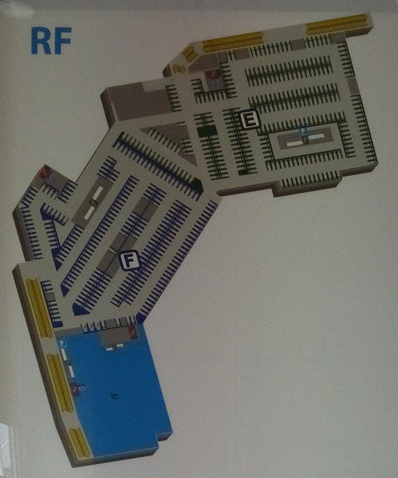 Floor Plan: Rooftop, AEON Mall Bukit Mertajam