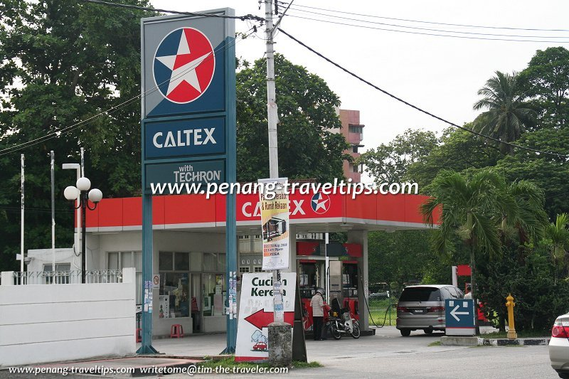 Air Itam Caltex, another view