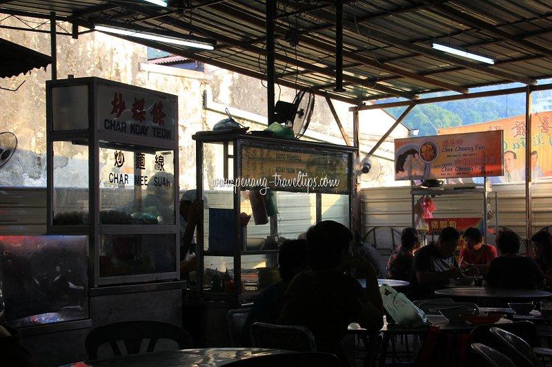 Air Itam Market Hawker Centre interior