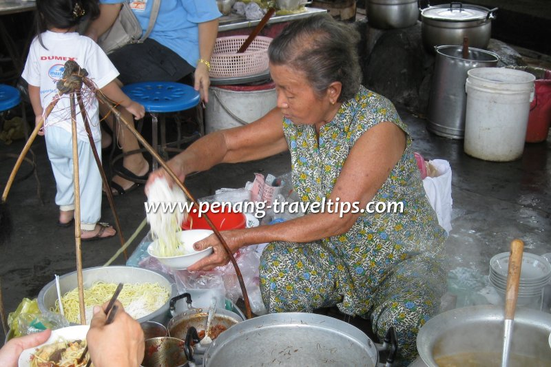 Air Itam Sisters Curry Mee