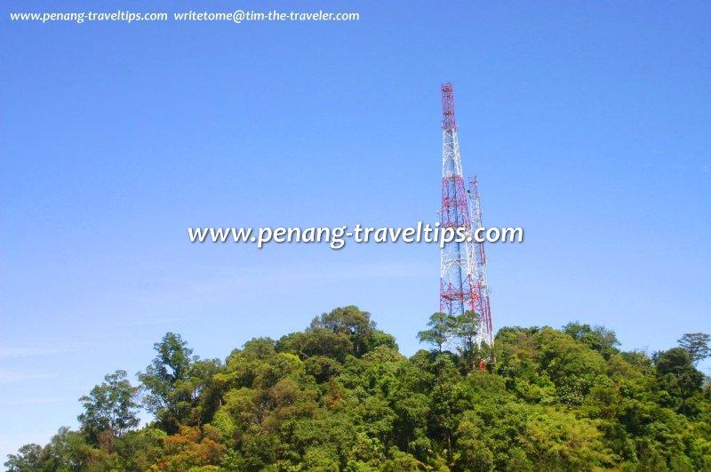 Telecommunication tower at Anjung Indah