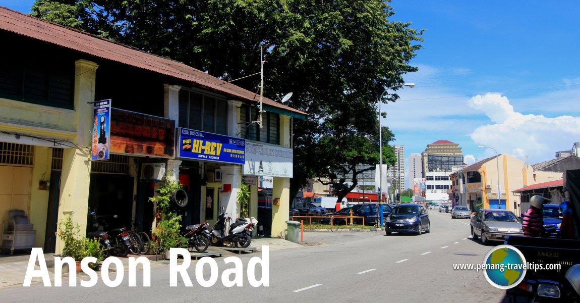 Anson Road Jalan George Town Penang